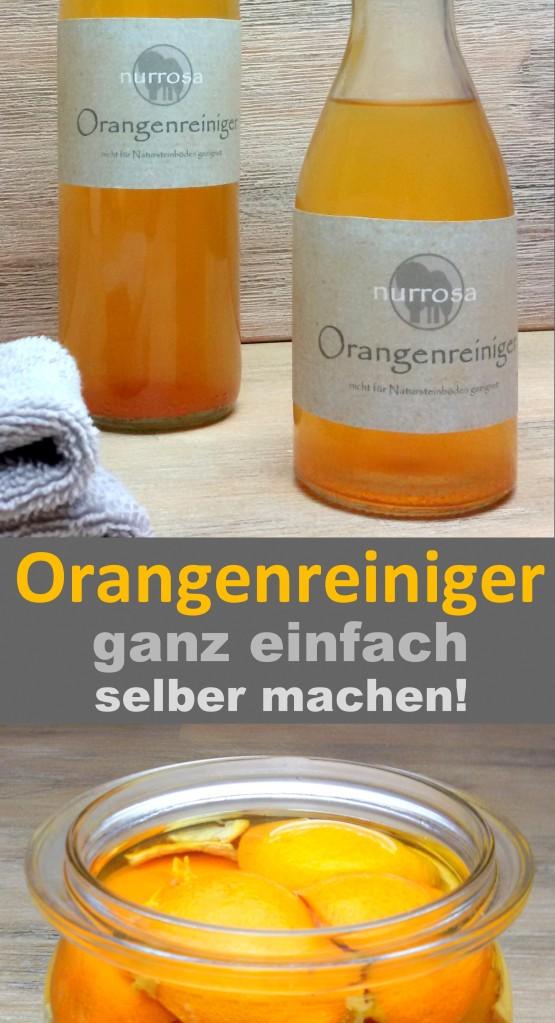 Orangenreiniger selber machen DIY