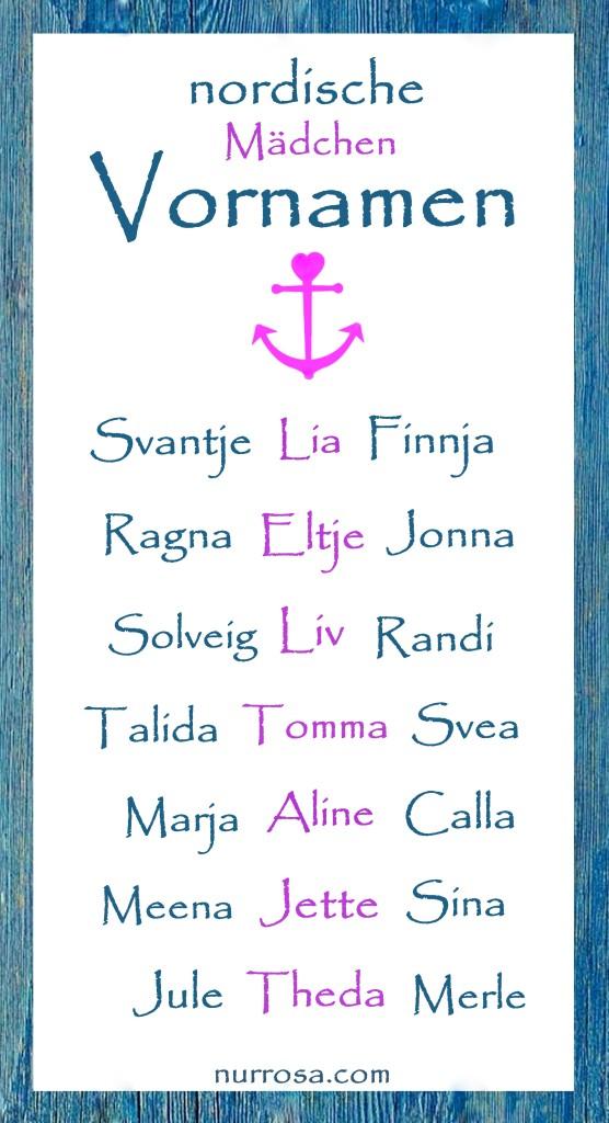 nordische Mädchen Vornamen