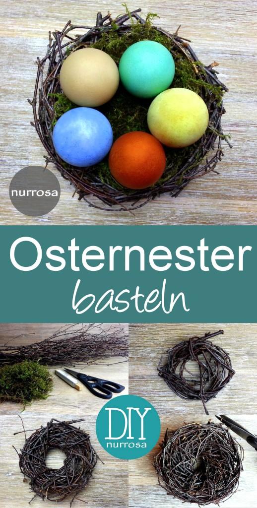 Osternester basteln