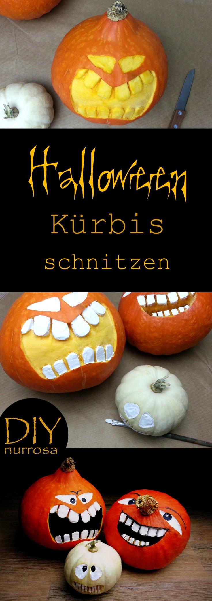 Halloween Kürbis Anleitung