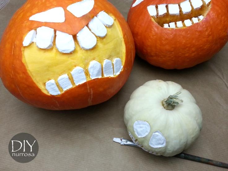 Halloween Kürbis schnitzen Anleitung