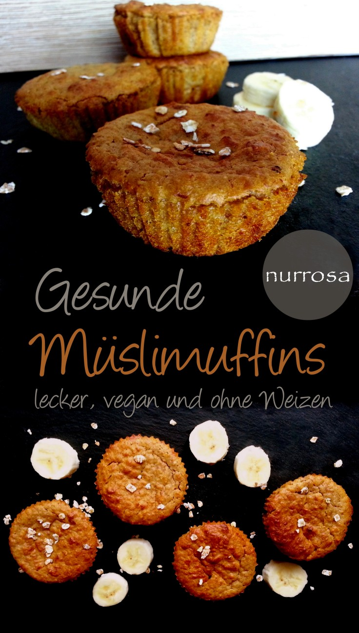 Müslimuffins Rezept nurrosa