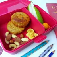 Gesunde Müslimuffins vegan und ohne Zucker