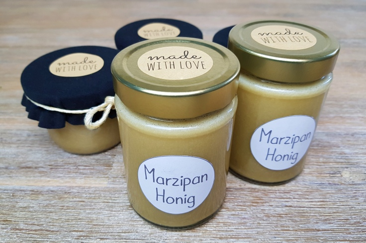 Marzipan Honig selber machen