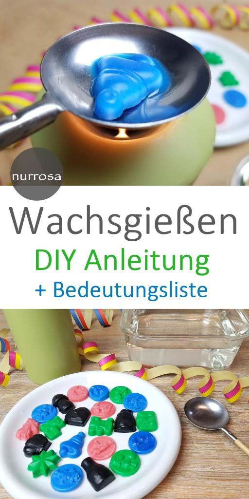 Wachsgießen DIY Anleitung