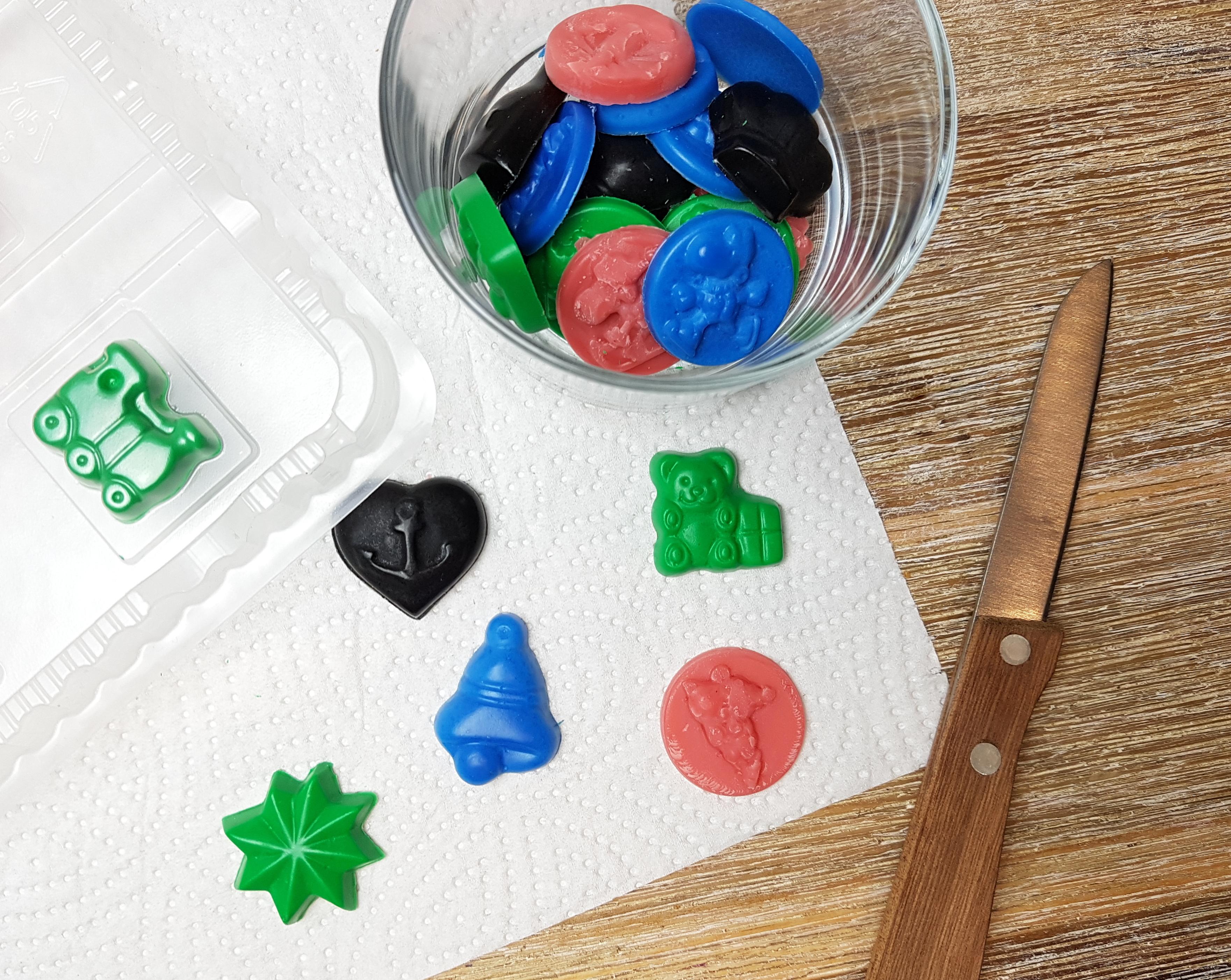 Wachsgießen Silvester DIY