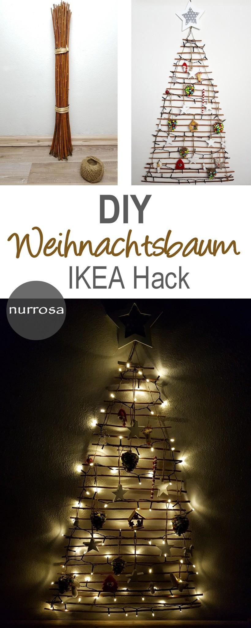 Weihnachtsbaum selber basteln DIY