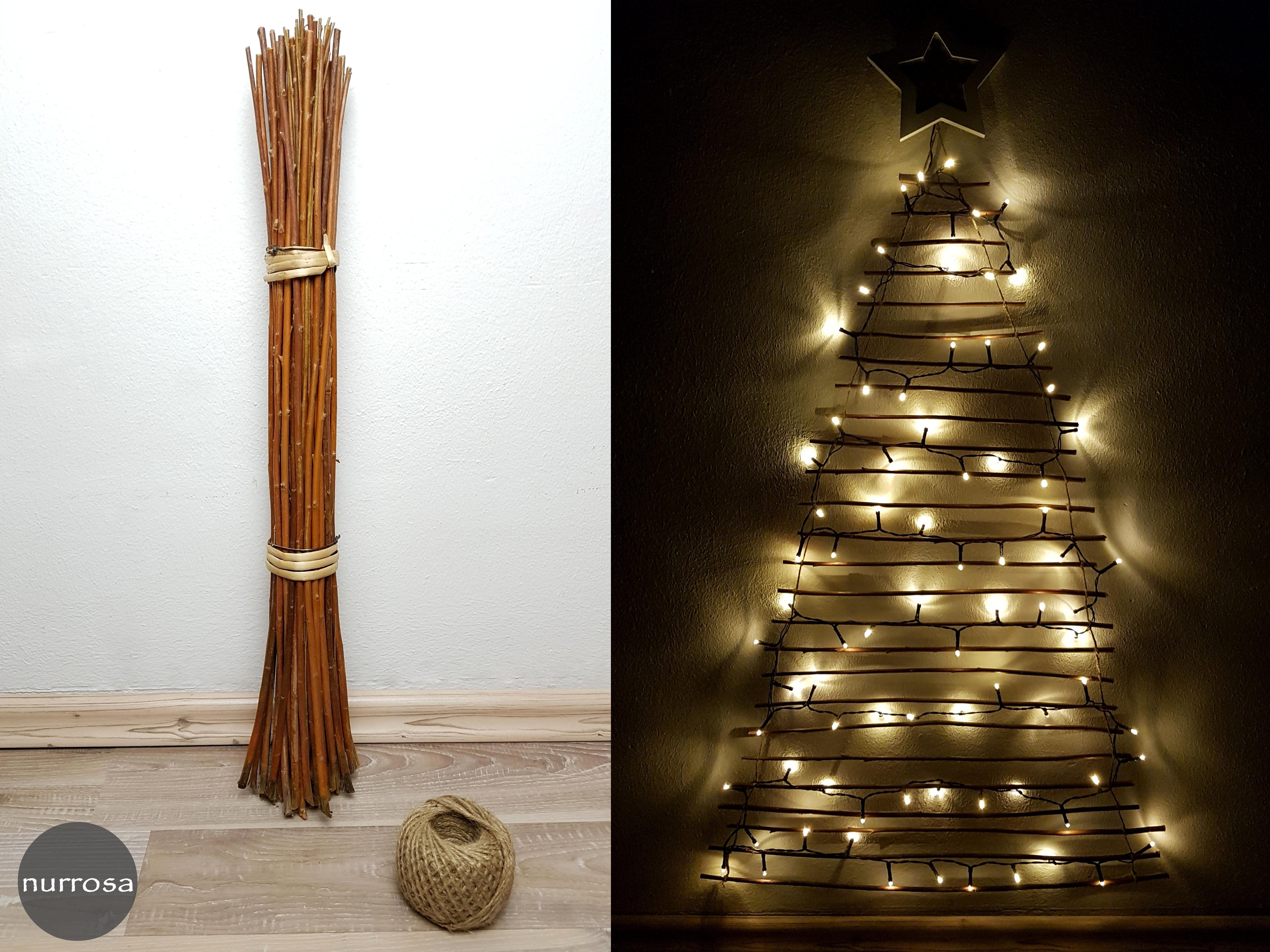Ikea Weihnachtsbaum.Weihnachtsbaum Basteln Ikea Hack Nurrosa