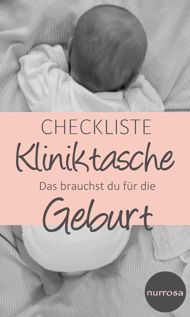 Checkliste Kliniktasche Das brauchst du für die Geburt