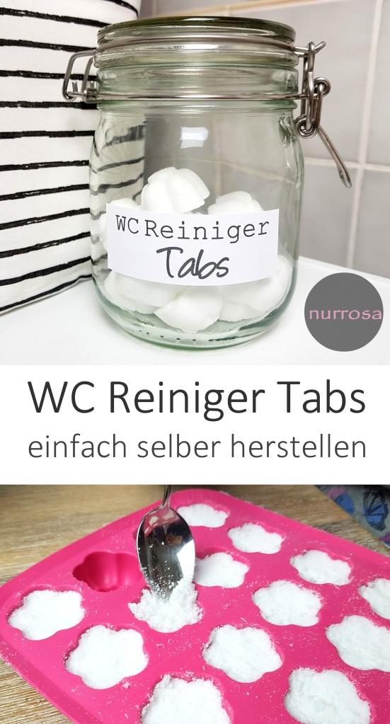 WC Reiniger Tabs DIY