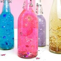 Magische Schüttelflaschen / Sensorikflaschen selber machen