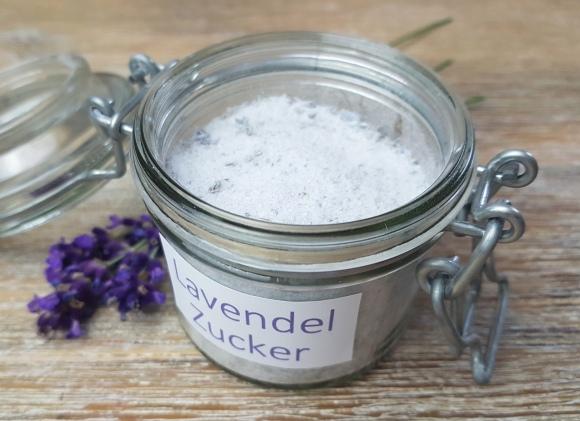 Lavendelzucker Rezept