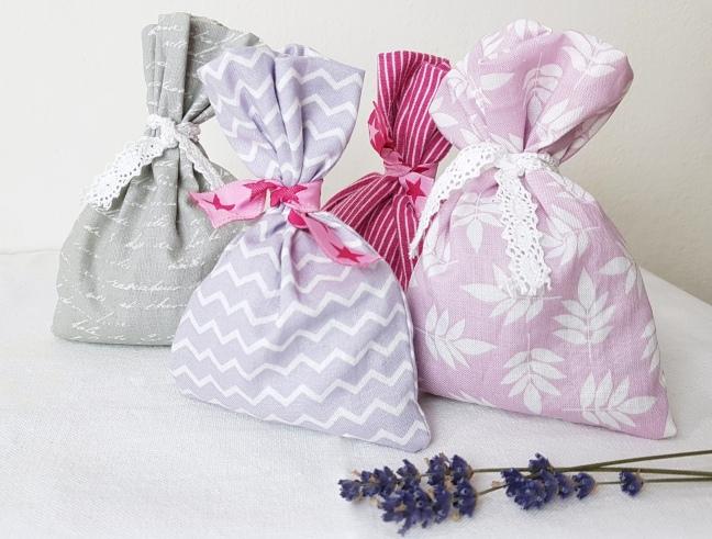 DIY Duftsäckchen Lavendel