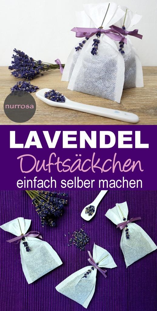 Lavendel Duftsäckchen selber machen