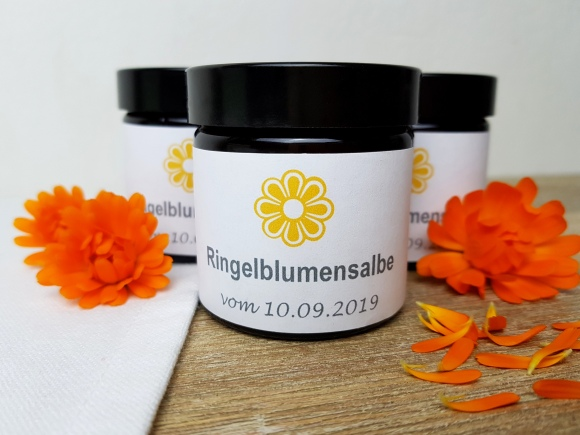 Ringelblumensalbe DIY Anleitung