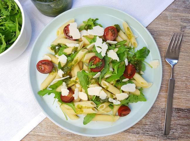 Pasta mit Pesto Rezept