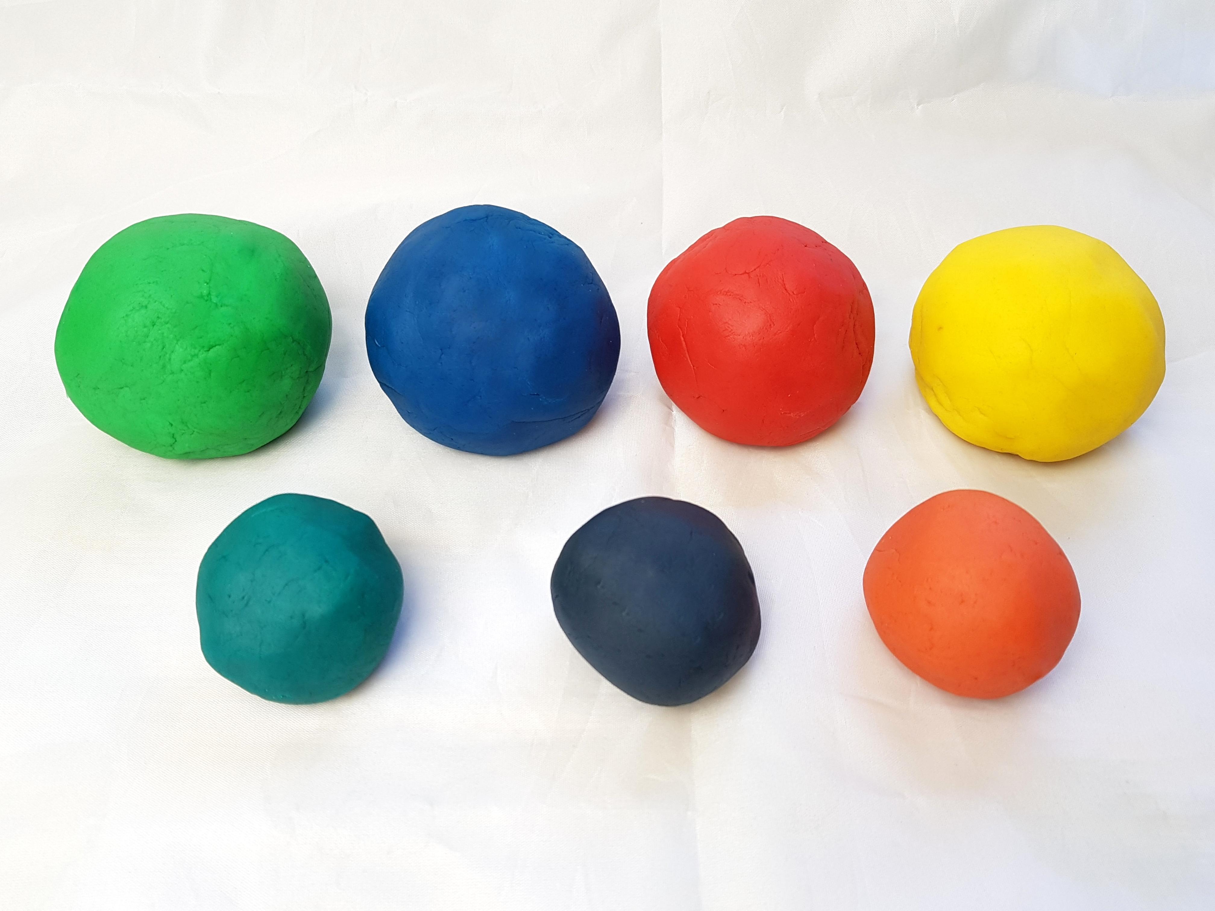 Kinderknete färben DIY