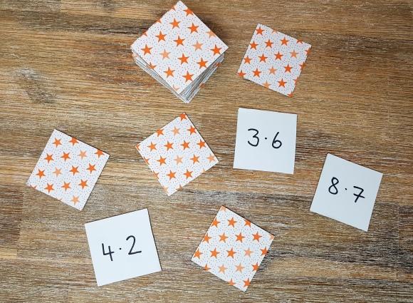 Spielerisch das kleine 1 x 1 lernen