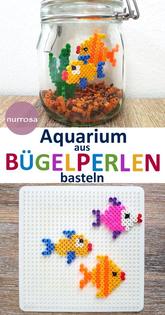 Aquarium aus Bügelperlen basteln