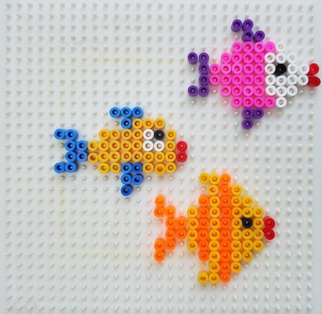Bügelperlen Aquarium DIY