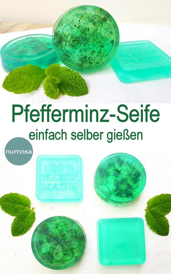 Pfefferminz-Seife einfach selber gießen