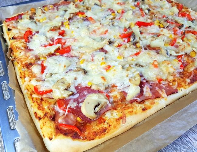 Pizza - unser Familienrezept