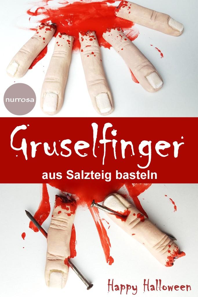Gruselfinger aus Salzteig - DIY